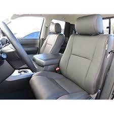 2008 toyota tundra seat covers amazon com toyota tundra crew max 2007 2013 factory leather
