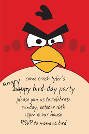 cute birthday invitations angry birds birthday invitation very cute labor intensive but