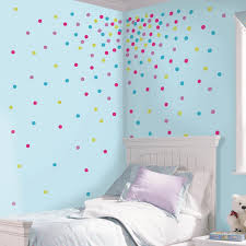 glitter wall stickers door wall sticker poster bling glitter roommates multi glitter confetti dots peel and stick wall decals