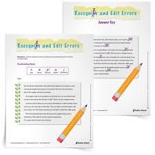 printables revise and edit worksheets ronleyba worksheets printables