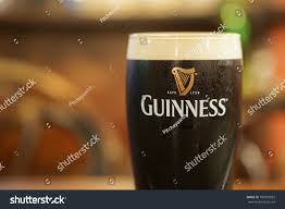 Guinness Flag Bangkok Thailand December 24 2017 Pint Stock Photo 781891855