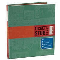 ticket stub album stub diary