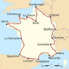 France On Map by File Tour De France 1914 Map Fr Svg Wikipedia