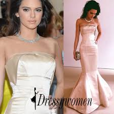 charming long prom evening dress mermaid strapless for women