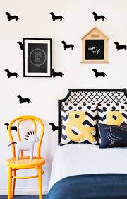 92 best dachshund themed nursery images on pinterest dachshunds each decal is crafted using an ultra thin high quality vinyl material which allows them to blend seamlessly into the wall
