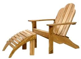 Ottoman Plans Reclining Adirondack Chair With Pull Out Ottoman Plans