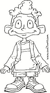 Dil Free Printable Rugrats Grown Coloring Pages Coloring