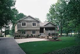 split level home style with stone cladding the elegant split