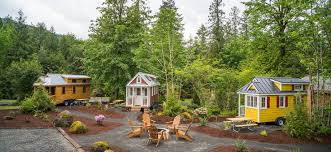 tiny house rental in oregon there s an adorable village of tiny house vacation