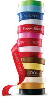 customized ribbon business customization lindt chocolate