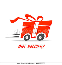 gift delivery gifts delivery stock images royalty free images vectors