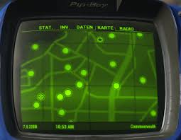 Fallout 3 Bobblehead Locations Map by Better Improved Pip Boy Map Mapfix By Mod Download