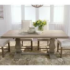 aldridge antique grey extendable dining table home decorators collection aldridge 84 in dining bench in antique