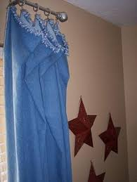 Denim Curtain Jeans Curtain Recycled Denim Curtain With Pockets And By Zembil