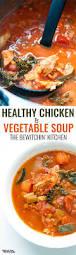 Soup Kitchen Menu Ideas Healthy Chicken Vegetable Soup The Bewitchin U0027 Kitchen
