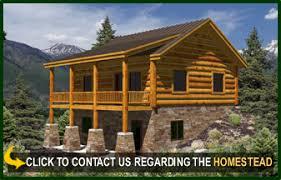 small mountain cabin floor plans homestead log cabin floor plans