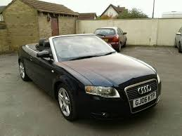 audi convertible 2006 2006 audi a4 1 8 t convertible with full service history in