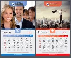design wall calendar 2015 16 calendar indesign templates for year 2015 design freebies