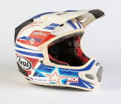 motocross helmet painting video ventureshield chip protection for arai helmets mcn