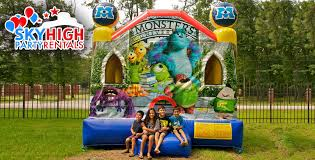 monsters university moonwalks sky high party rentals