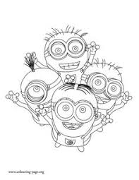 minions coloring picture kid u0027s crafts experiments activities