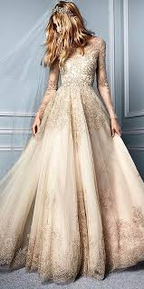 golden wedding dresses 30 gown wedding dresses fit for a gowns
