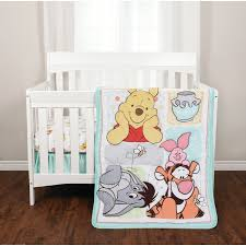 Winnie The Pooh Nursery Bedding Sets Disney Winnie The Pooh 3 Crib Bedding Set Reviews Wayfair Ca