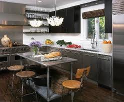 stainless steel kitchen island table kitchen stainless steel kitchen island table on kitchen with