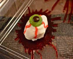 check out creepy eyeball halloween treats it u0027s so easy to make