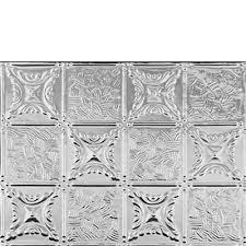 Quilt Aluminum Backsplash Tile - Aluminum backsplash