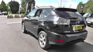 lexus rx400h off road review lexus rx 400h 3 3 se 5dr cvt auto u10727 youtube