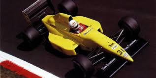 Coloni, equipe histórica de Formula 1 de 1990 - by f1rejects.com