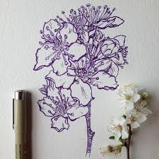 35 best flowers images on pinterest draw watercolor and embroidery