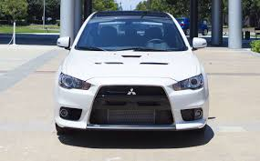 white mitsubishi lancer 2017 mitsubishi lancer evolution final edition looks astonishing in