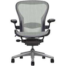 Used Herman Miller Office Furniture by Buy Used Herman Miller Aeron Loaded Lead Grey