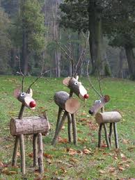 25 unique outdoor reindeer ideas on outdoor