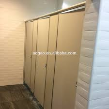 Toilet Partition Wood Compact Laminate Hpl Toilet Partition Buy High Quality