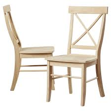 Solid Wood Dining Chairs August Grove Sawyer Cross Back Solid Wood Dining Chair U0026 Reviews