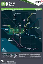 melbourne tram map melbourne tram map