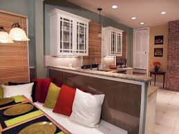 Eat In Kitchen Furniture How To Build Banquette Seating How Tos Diy