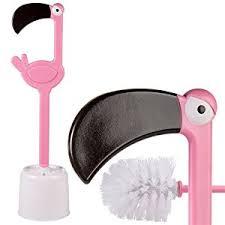 Funny Bathroom Gifts Flamingo Toilet Brush Novelty Pink Bathroom Cleaner Gift Wc Loo