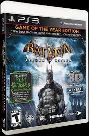 batman arkham asylum game of the year edition ign