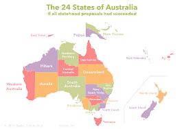 Map Of New England States by Proposed Australian States U2013 Sasha Trubetskoy