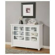 buffet cabinet with glass doors 20 ideas of white sideboards with glass doors