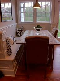 Best  Corner Breakfast Nooks Ideas On Pinterest Dining Booth - Dining room table with bench