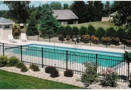 Pool Landscaping Ideas 30 Stylish And Practical Pool Fence Designs Digsdigs