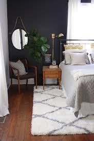 Nate Berkus Arrowhead Rug Room Tour Our Bedroom Lesley W Graham Dark Bedroom Walls