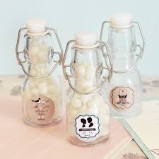 vintage wedding favors vintage wedding personalized mini glass bottles
