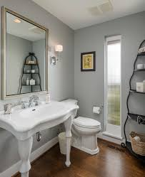fantastic pedestal sink storage decorating ideas for powder room