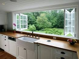 ideas for kitchen windows kitchen window decoration ideas elabrazo info